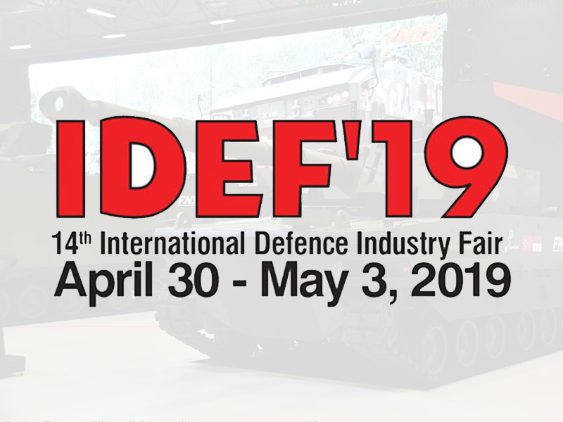OUR MEMBERS IN IDEF 2019 FAIR